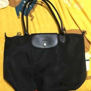 Black Longchamp bag