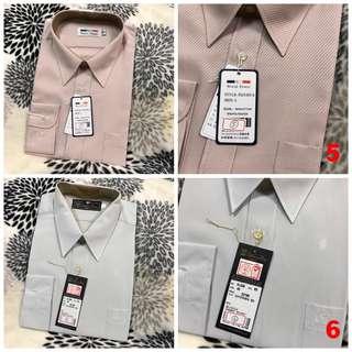🚚 男襯衫 長袖 短袖 白襯衫 條紋襯衫 全新 吊牌未拆