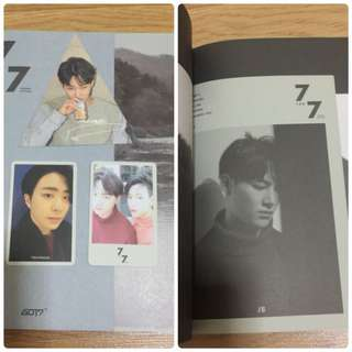 GOT7 7For7 Cozy Ver - Unsealed (Album + PC, SOLD AS SET)