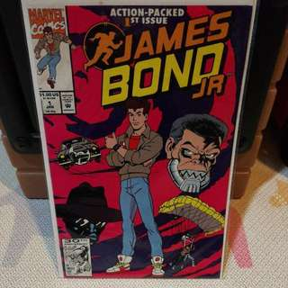 Marvel Comics James Bond JR