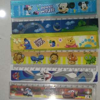 Rulers assorted