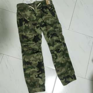 Brand New Cotton On Kids Camo Jogger Pants