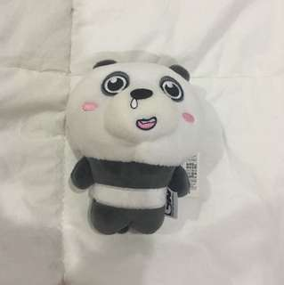 We Bare Bears Panpan Head Keychain (B)