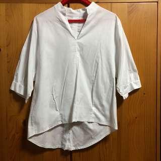 Korean boyfriend shirt in White