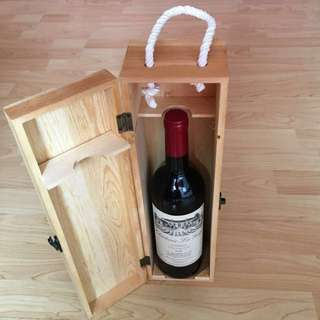 CLEARANCE SALES {Collectibles Item - Vintage Chateau Wine} Authentic Vintage Chateau Le Gay BORDEAUX 2009 (Vintage-Rating 94 Pts) Come With Wine Case/Box