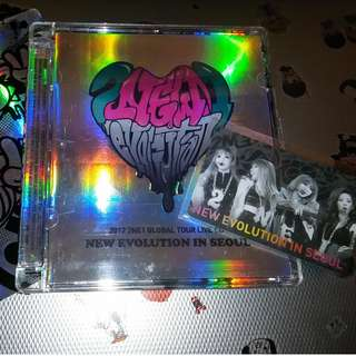 2NE1 2012 Live Concert CD