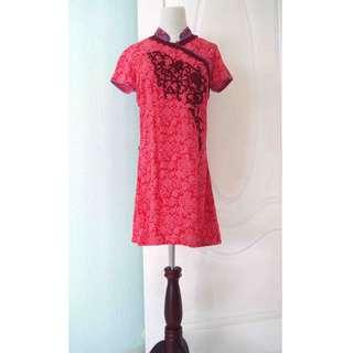 British India Chinese Dress