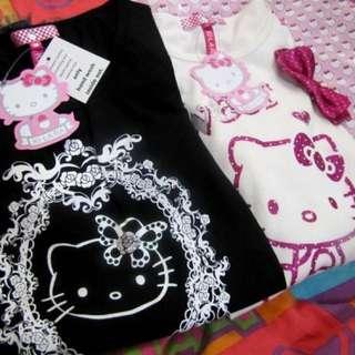 Hello Kitty Dress ( black )