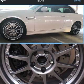 GUN METAL GREY RIMS 😍👍 SPRAY WITH US NOW!!
