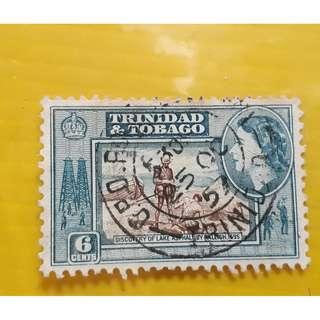TRINIDAD & TOBAGO - vintage used stamp