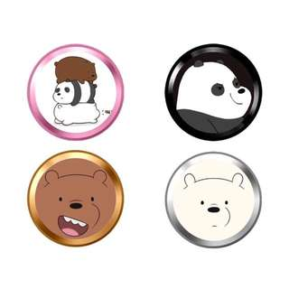 [WE BARE BEARS] [iPhone] Touch ID Sticker
