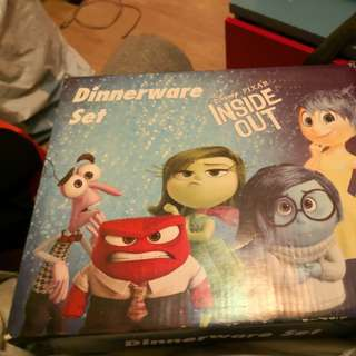 Inside out dinnerware SET