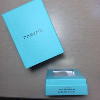 Tiffany & Co perfume box