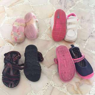 Very good condition Original Adidas / Oshkosh sneakers / sandals / shoes for boys & girls
