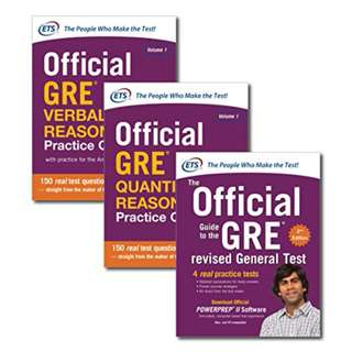 Official GRE Super Power Pack BY Educational Testing Service  (Author)