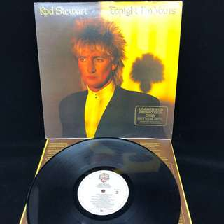 Rod Stewart- Tonight I'm Yours (promo copy)