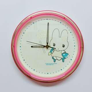 🚚 可愛 兔 時鐘🕤