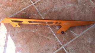 KTM Duke chain guard powerparts