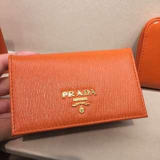 🎊Prada cardholder (orange)❤️