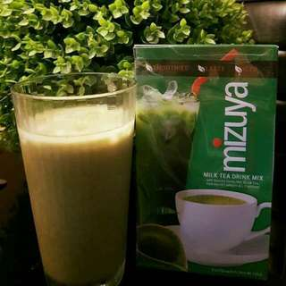 MIZUYA MILK TEA DRINK MIX WITH FREE KISSPROOF LIPPIE ♡
