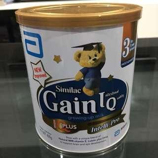 Similac Gain IQ Stage 3 milk powder 400g tin
