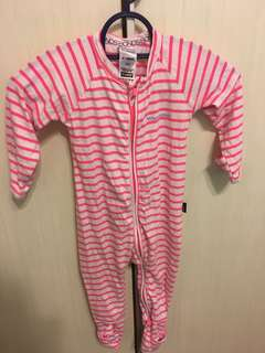 Bonds sleepsuit 6-12 months for girl baby