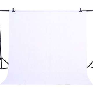 [INSTOCKS] 1.6mx4m White Backdrop Background