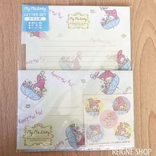 SANRIO MY MELODY LETTER SET