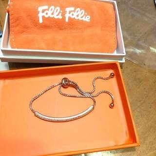 Folli folli 手鏈 (玫瑰金)