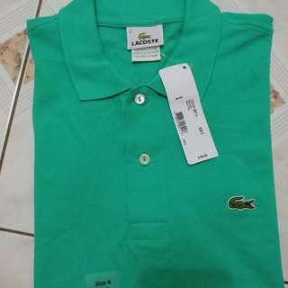 Lacoste Polo Shirt Size 4