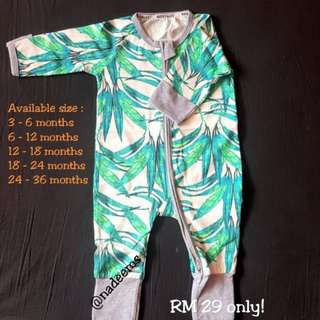 Sleepsuit Bonds Inspired (ready stock)