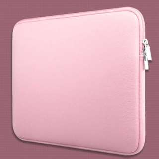 Classic Neoprene Inner Padded MacBook Laptop Zipper Sleeve Casing Case