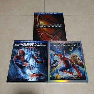 Spider-Man Bluray set no 3D | 7 discs