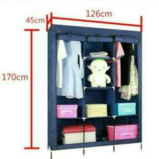 輕便組裝加大衣櫃Combination wardrobe#幫你省運費#free shipping