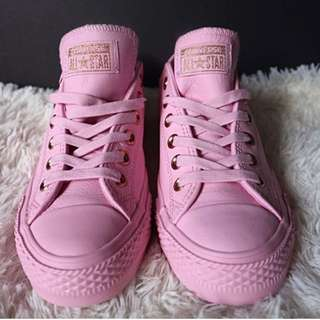 All Star Low Leather Lilac Mouse Exclusive Converse Sneakers