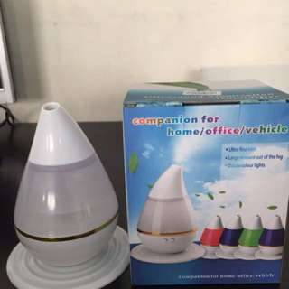 Air Purifier With Led Light