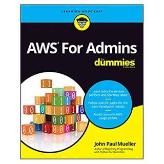 AWS For Admins For Dummies BY John Paul Mueller (Author)