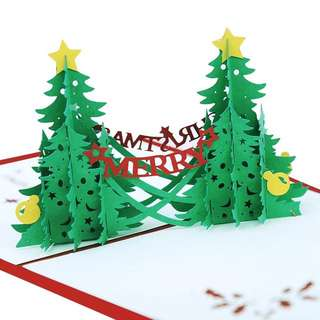 Christmas 3D pop up card