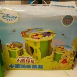NEW EVA disney foam table and chairs