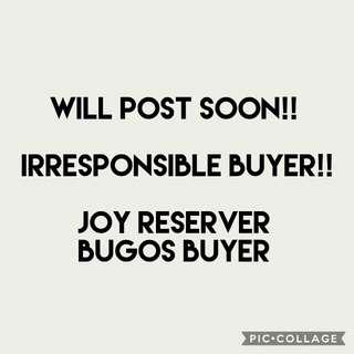 Joy Reserver not allowed!
