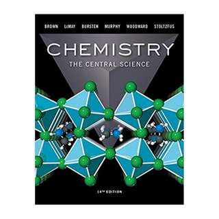 Chemistry: The Central Science (14th Edition) BY Theodore E. Brown  (Author),‎ H. Eugene LeMay (Author),‎ Bruce E. Bursten (Author),‎ Catherine Murphy (Author),‎ Patrick Woodward (Author),‎ Matthew E. Stoltzfus (Author)