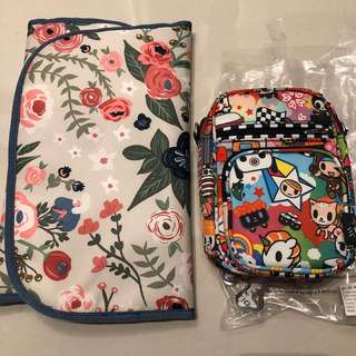 jujube tokidoki rosy posy cp and sushi cars mini helix