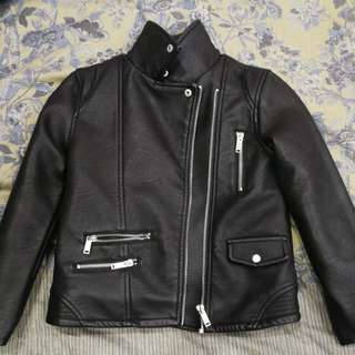 Zara Girls Bikers Jacket