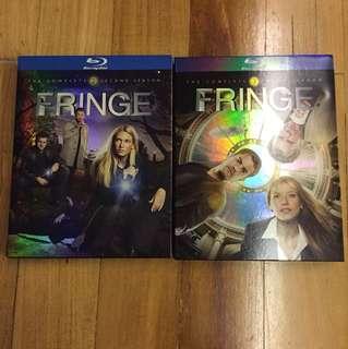 Fringe Blu-ray disc