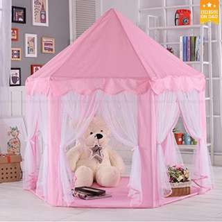 Large Indoor and Outdoor Kids Play House Tent