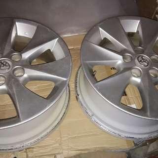 "17"" Alphard ori wheels"