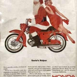 Vintage Honda Ad