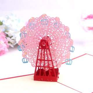 Cute 3D pop up card