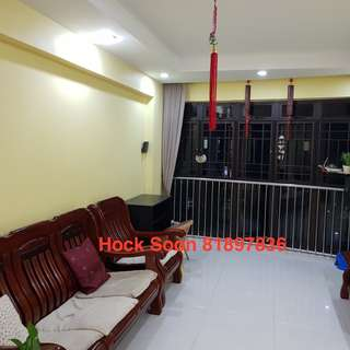 Whole HDB 5 room (High floor, Spacious, Furnished, Immediate)