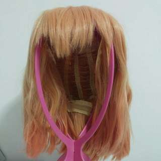 Orange(?) wig